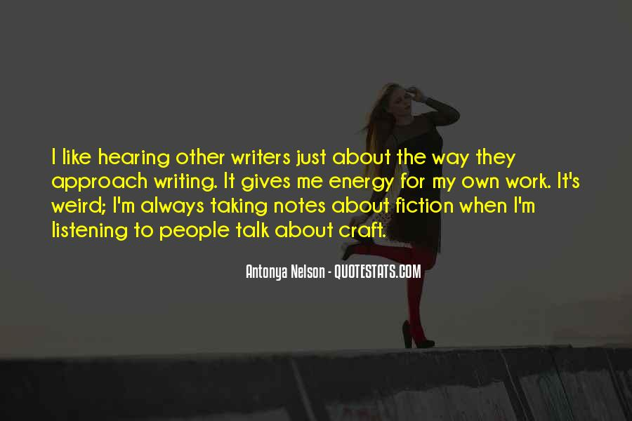 Quotes About Writing Notes #636916