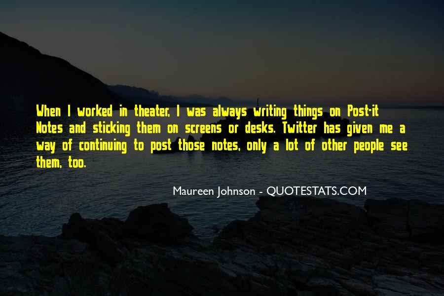Quotes About Writing Notes #759426
