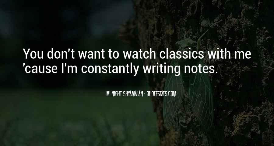 Quotes About Writing Notes #760803