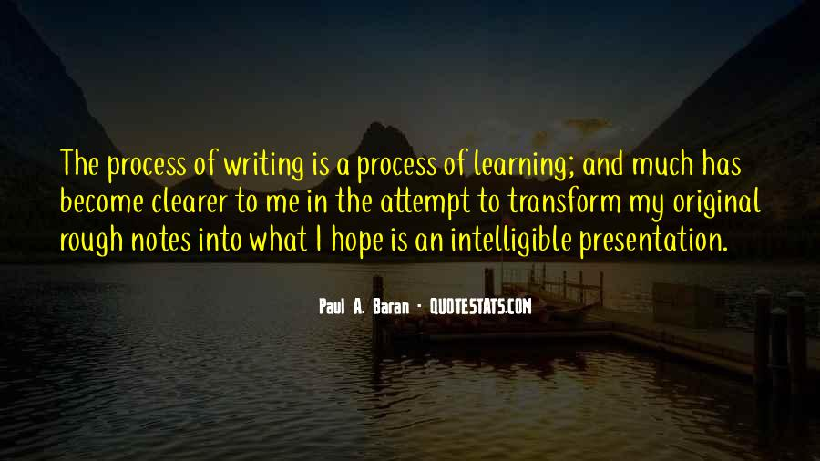 Quotes About Writing Notes #804836