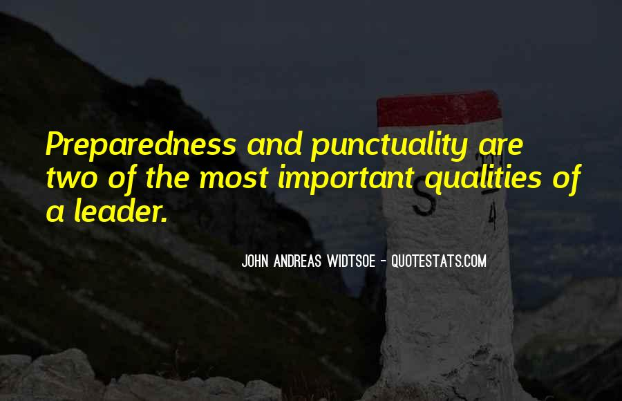 Quotes About Qualities Of A Leader #475021