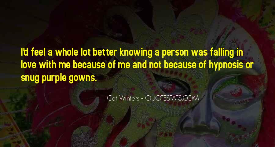 Quotes About Knowing Better #666396