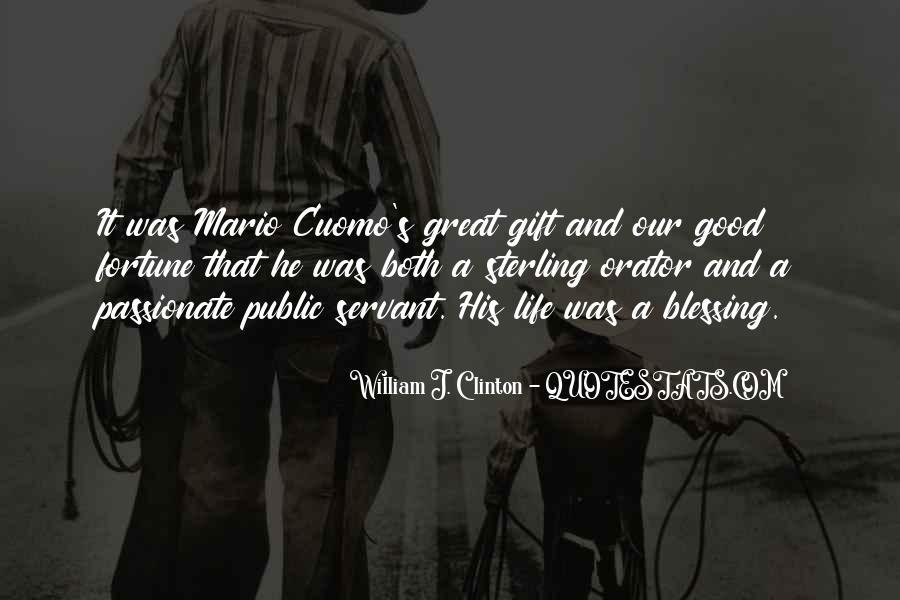 Quotes About A Good Public Servant #107972