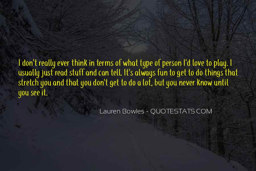 Quotes About I Really Love You #148771