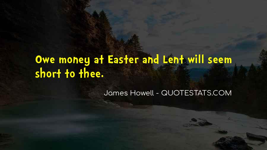 Quotes About Lent And Easter #344306