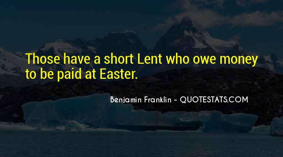 Quotes About Lent And Easter #566516