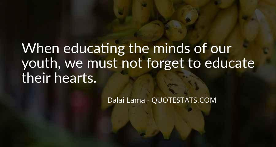 Quotes About Educating Our Youth #450875