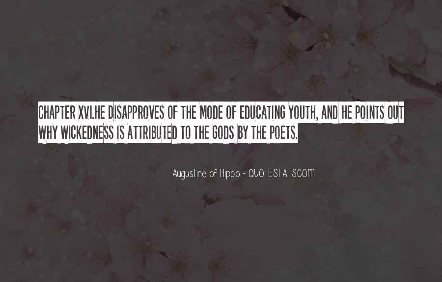 Quotes About Educating Our Youth #614087