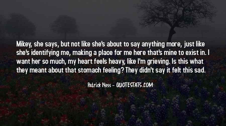 Quotes About Feeling Sad In Love #1549892