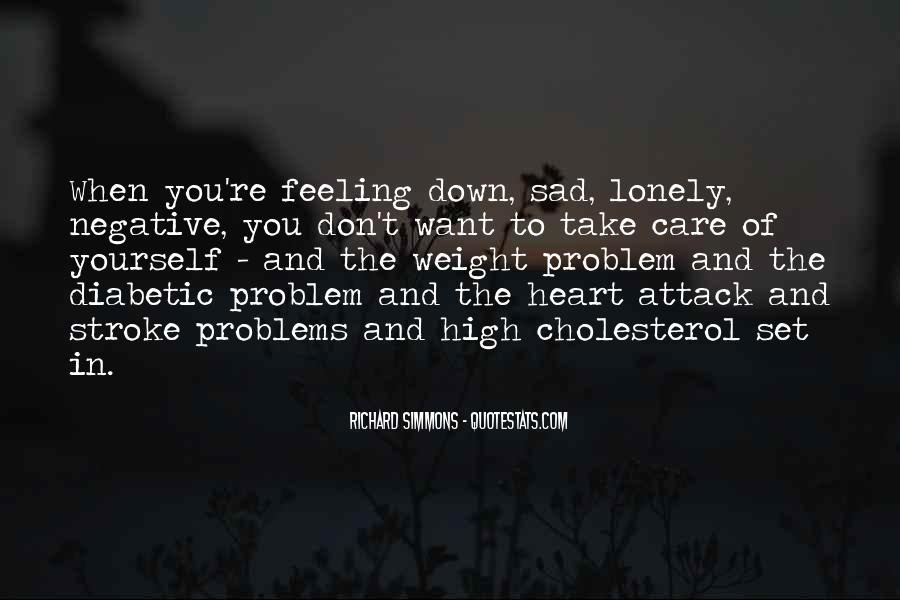 Quotes About Feeling Lonely #15794