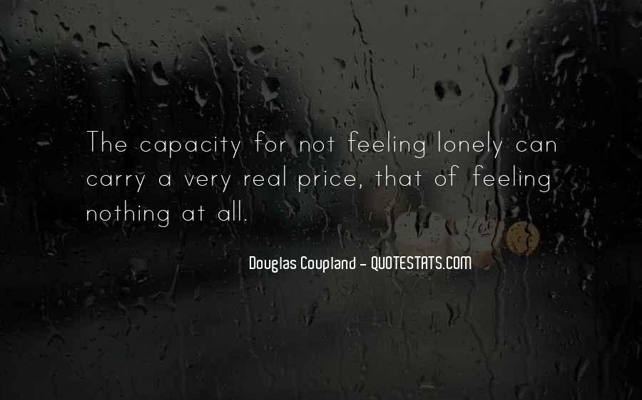 Quotes About Feeling Lonely #30460
