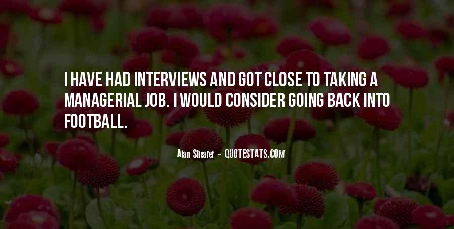 Quotes About Job Interviews #10682