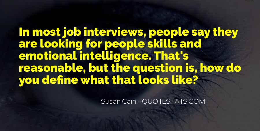 Quotes About Job Interviews #1299229