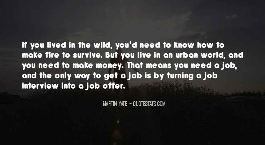 Quotes About Job Interviews #540762