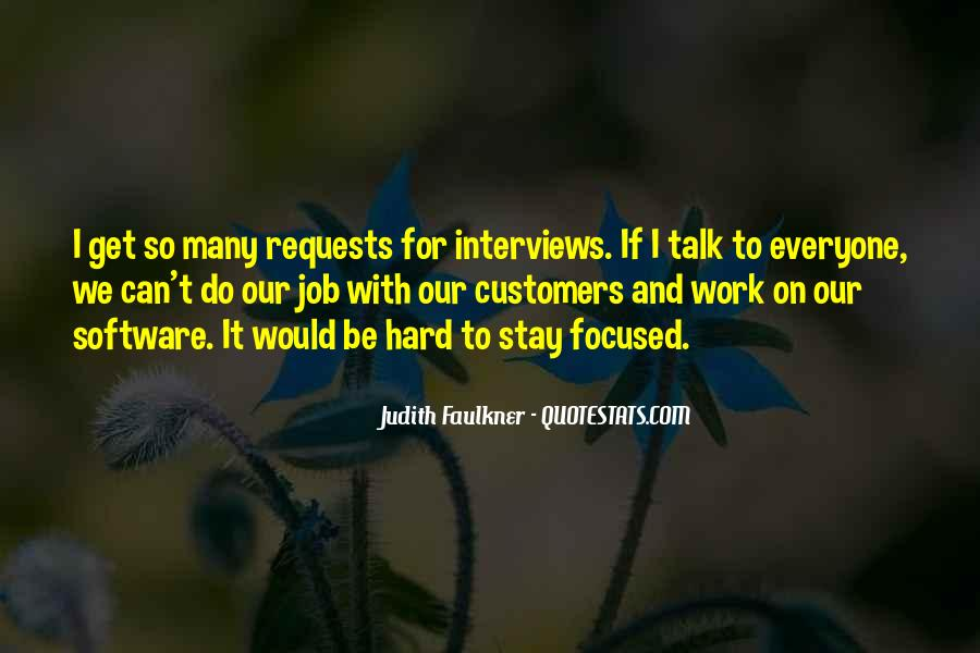 Quotes About Job Interviews #810349