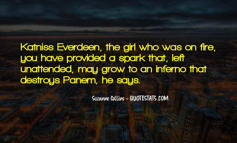 Quotes About Katniss Everdeen In Catching Fire #85179