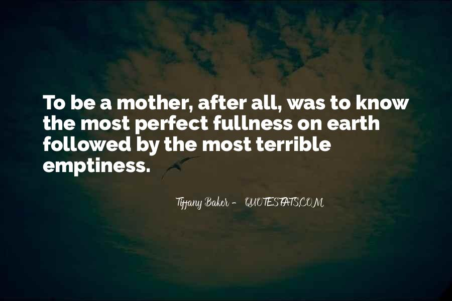 Quotes About Soon To Be Mother #7316