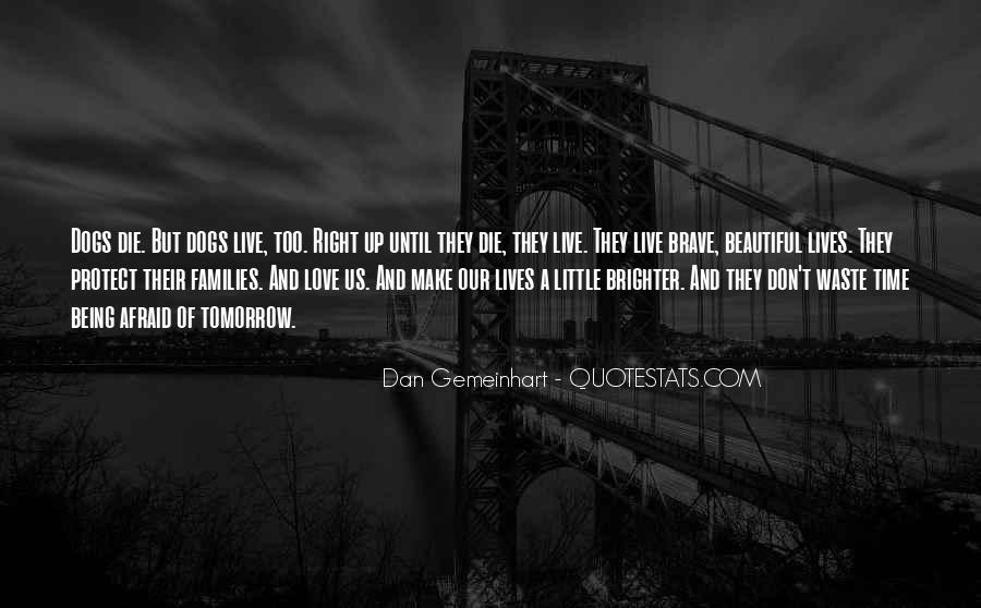 Quotes About Brighter Tomorrow #1029305