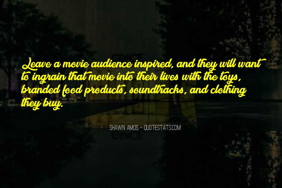 Quotes About Movie Soundtracks #1655618
