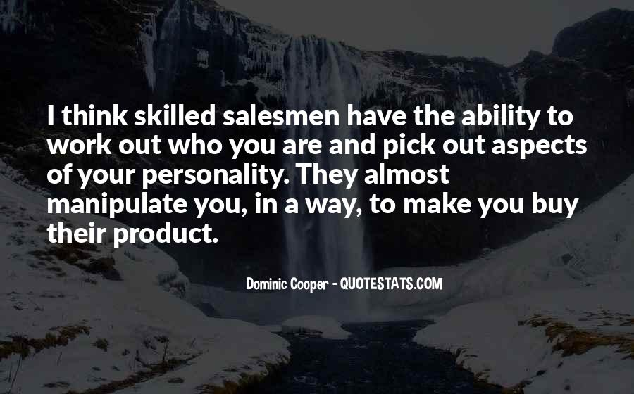 Quotes About Salesmen #1287467