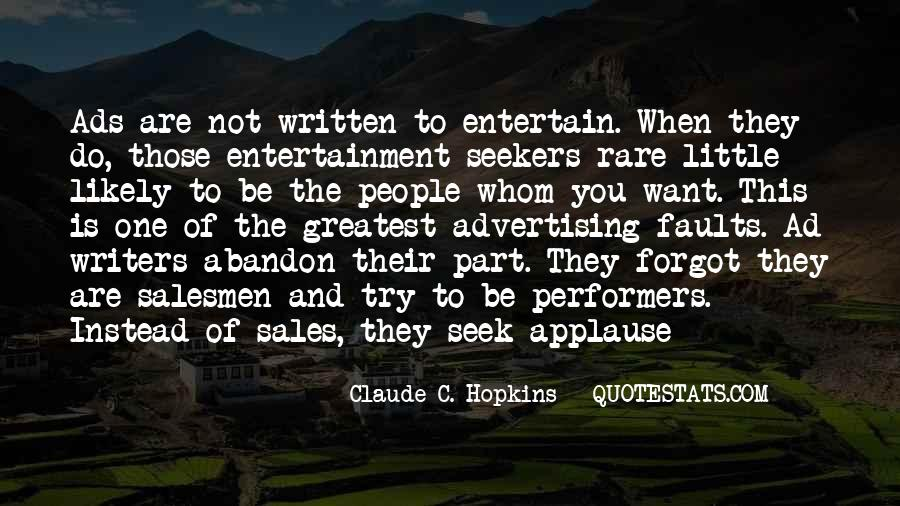 Quotes About Salesmen #1304465