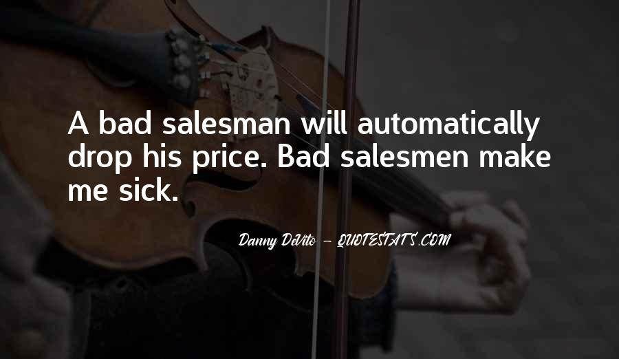 Quotes About Salesmen #1839893