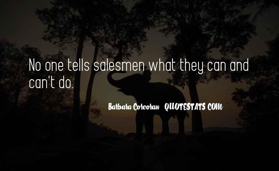 Quotes About Salesmen #314329
