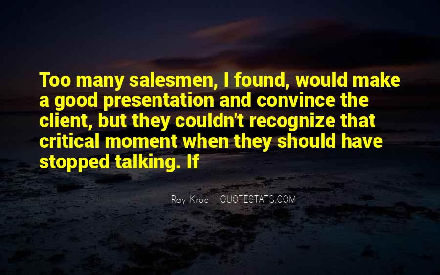 Quotes About Salesmen #366470