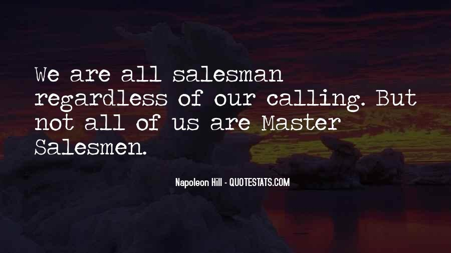 Quotes About Salesmen #395521