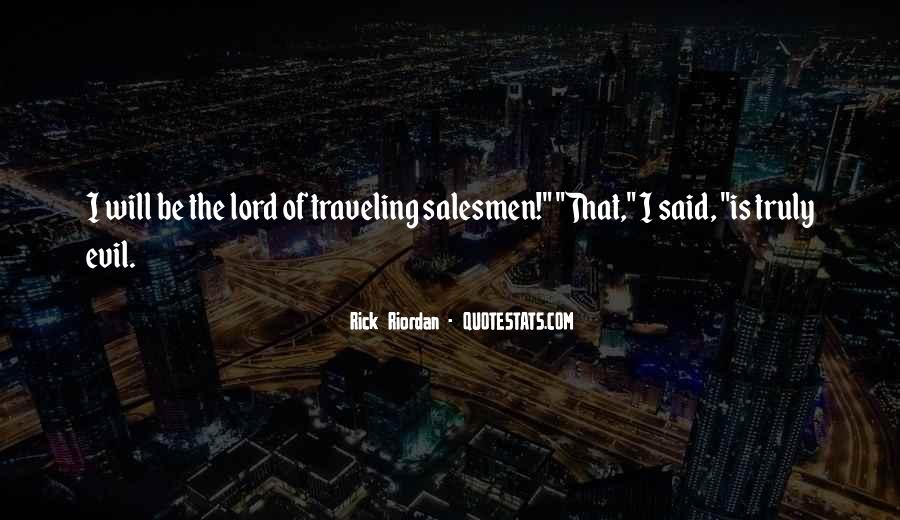 Quotes About Salesmen #487597
