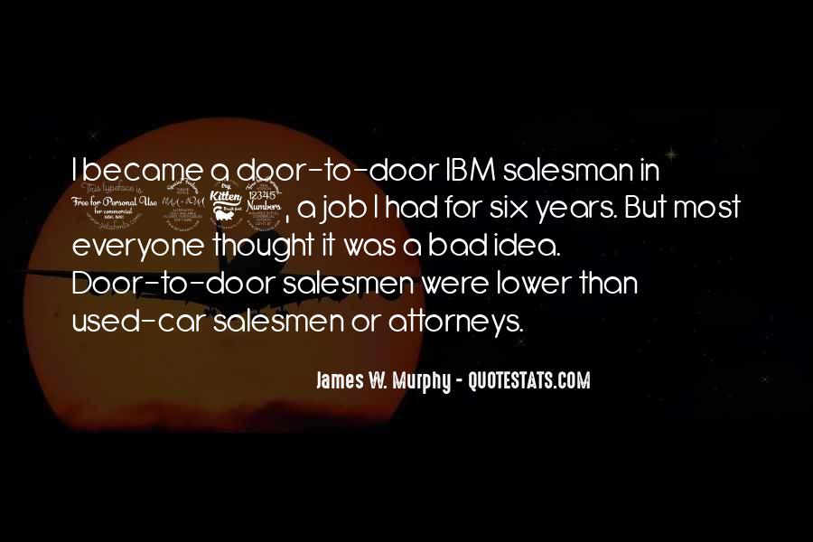 Quotes About Salesmen #847481
