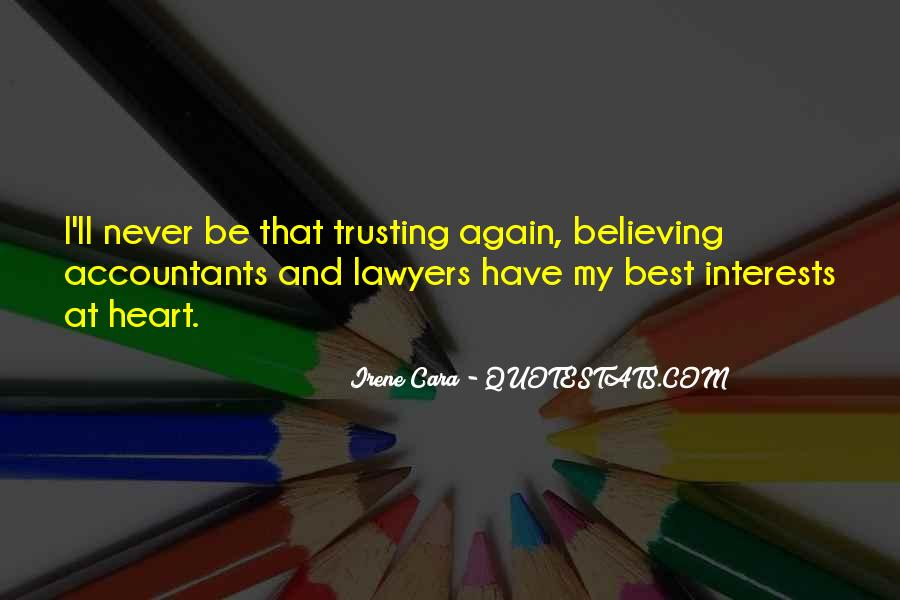 Quotes About Best Interests At Heart #1257629