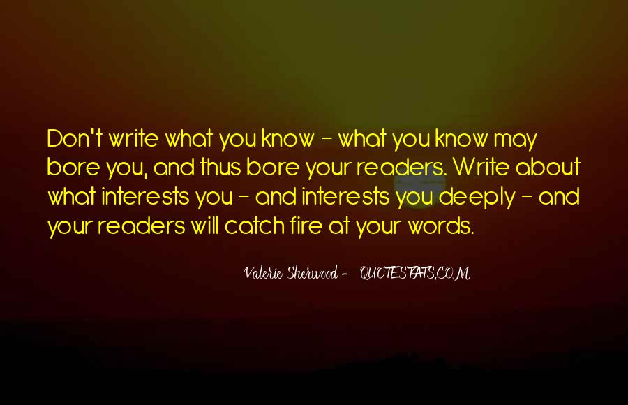 Quotes About Best Interests At Heart #244125