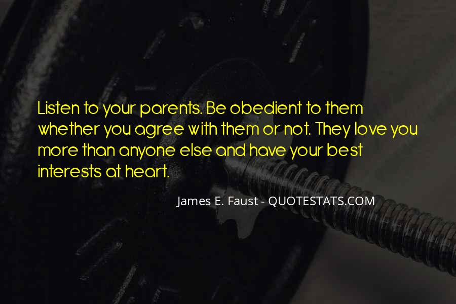 Quotes About Best Interests At Heart #251089