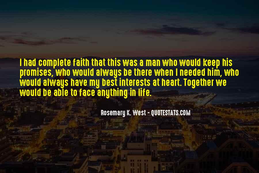 Quotes About Best Interests At Heart #26453
