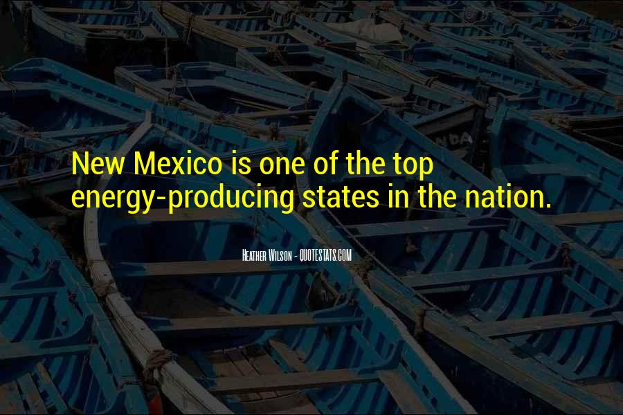 Quotes About New Mexico #125650