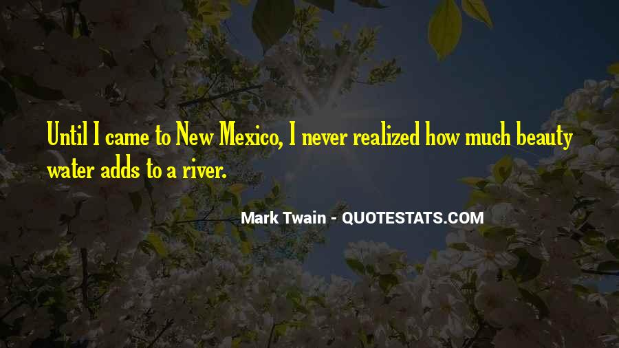 Quotes About New Mexico #1256768