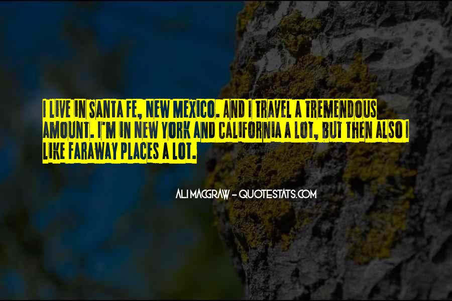 Quotes About New Mexico #1827672