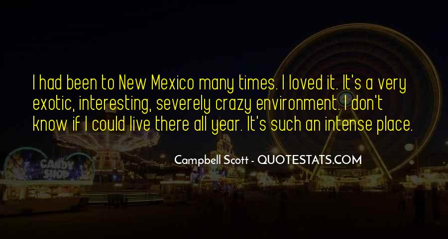 Quotes About New Mexico #274564