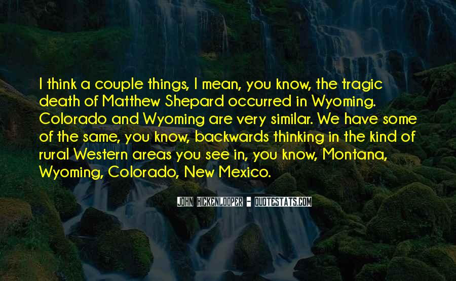 Quotes About New Mexico #343636