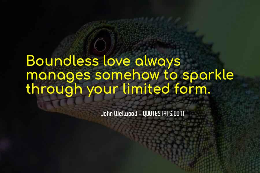 Quotes About Boundless Love #104644