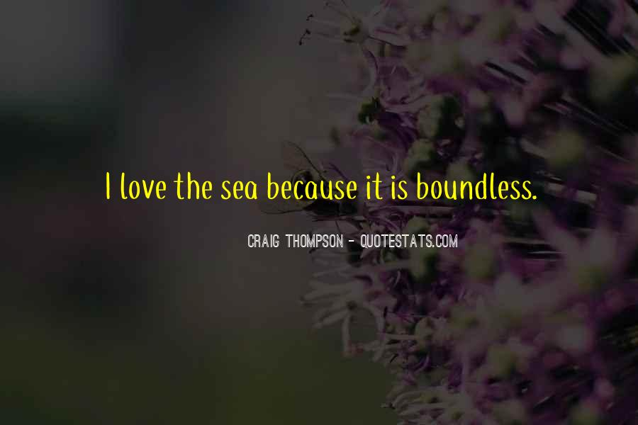 Quotes About Boundless Love #1148970
