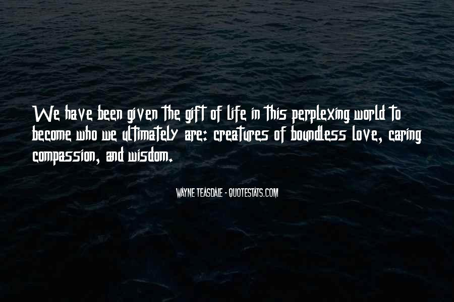 Quotes About Boundless Love #1163005