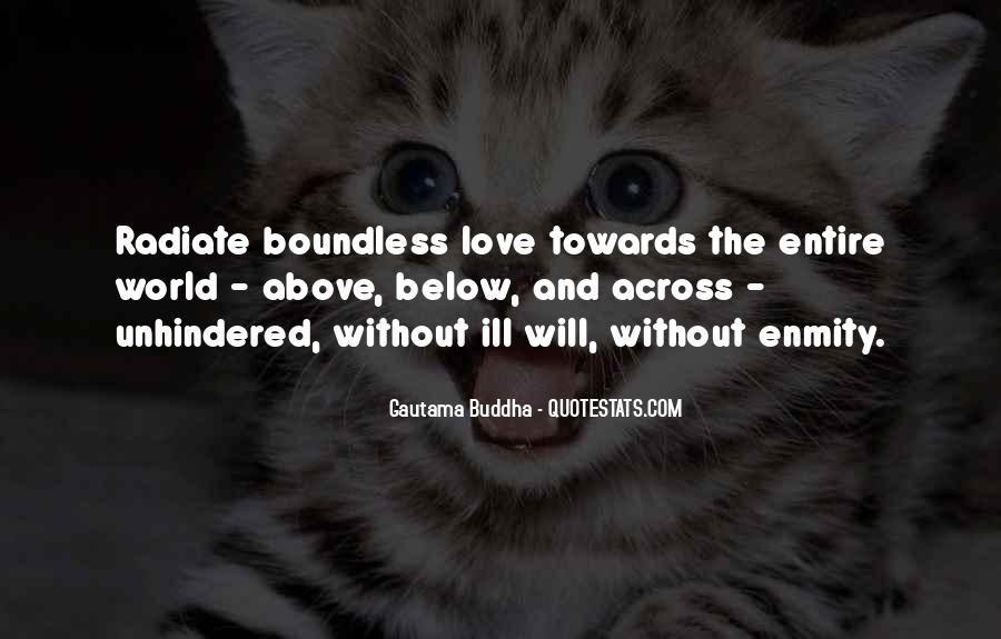 Quotes About Boundless Love #1344429