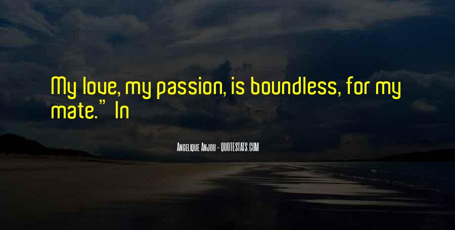 Quotes About Boundless Love #140890