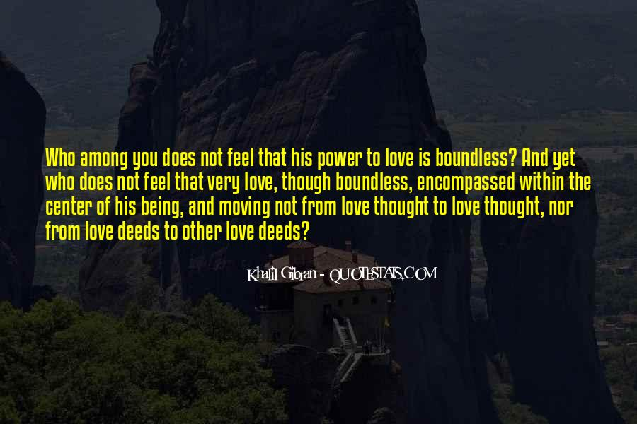 Quotes About Boundless Love #1417000