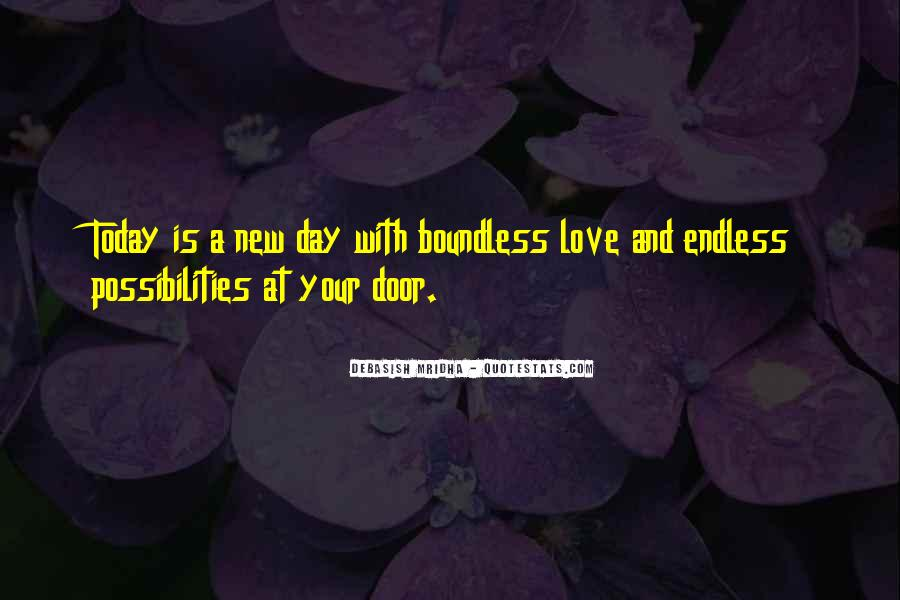 Quotes About Boundless Love #335390