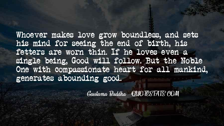 Quotes About Boundless Love #715229