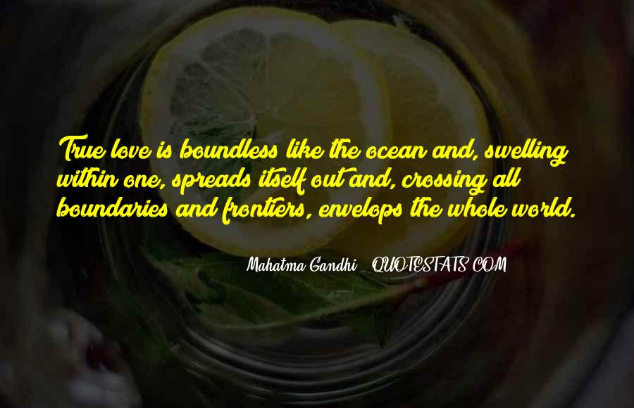 Quotes About Boundless Love #720144