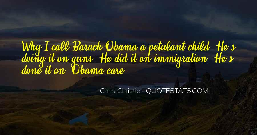 Quotes About Immigration Obama #1181590